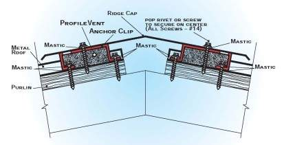 Profile Vent Diagram