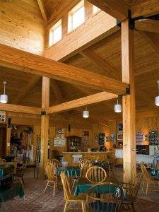 Wooden Curved Ceiling