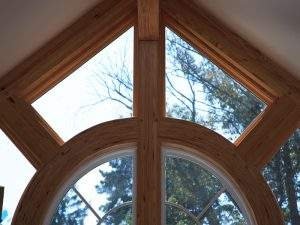 Window with Curved Beams